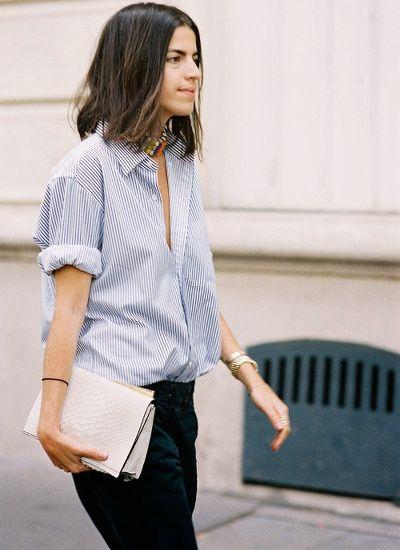 Les diff rentes fa on de porter une chemise - Comment porter une chemise femme ...