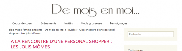 personal shopper paris