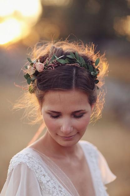 Couronne fleur mariée