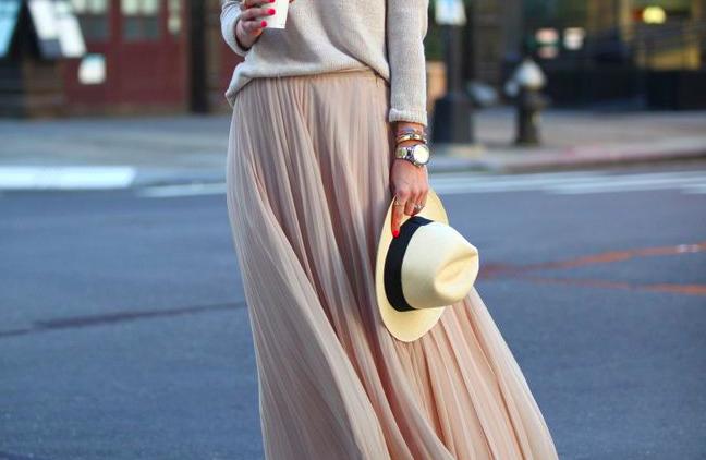 La jupe longue, je peux ?