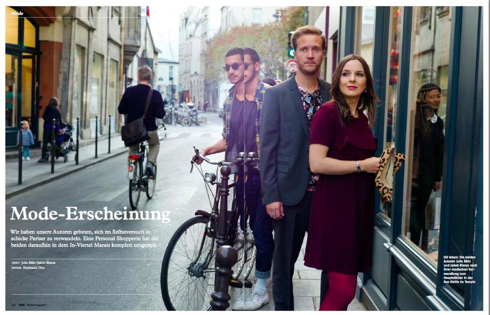 Presse – Reisemagazin – Un relooking à la parisienne