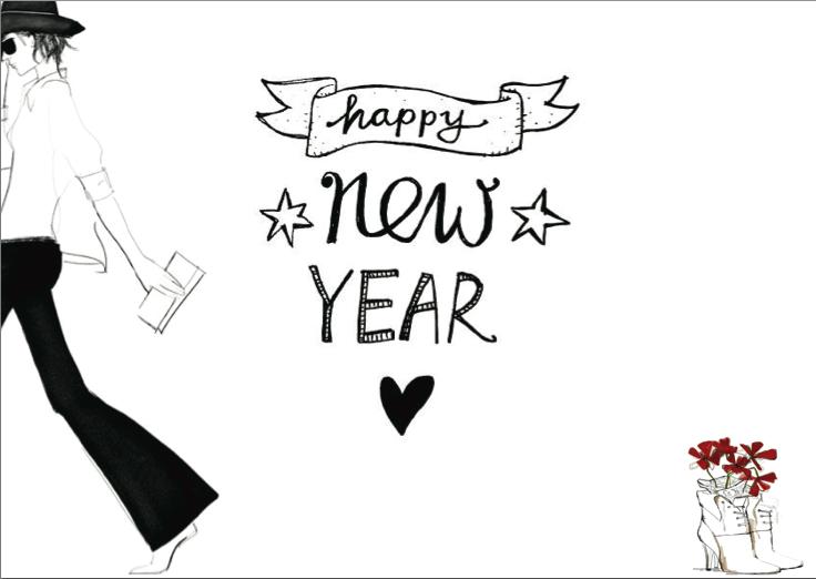 Bonne année les jolis mômes