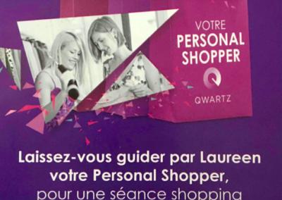 Personal shopper QWARTZ
