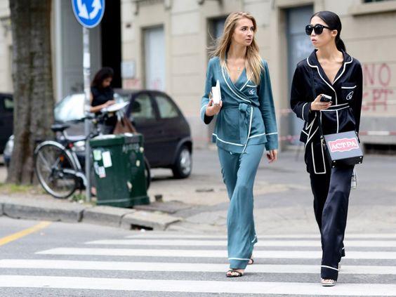 Quand le pyjama sort dans la rue