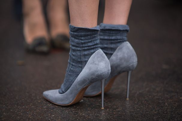 Porter des chaussettes qui se voient