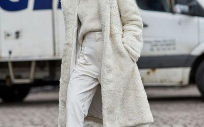 Monter les blancs (vêtements) sans neige