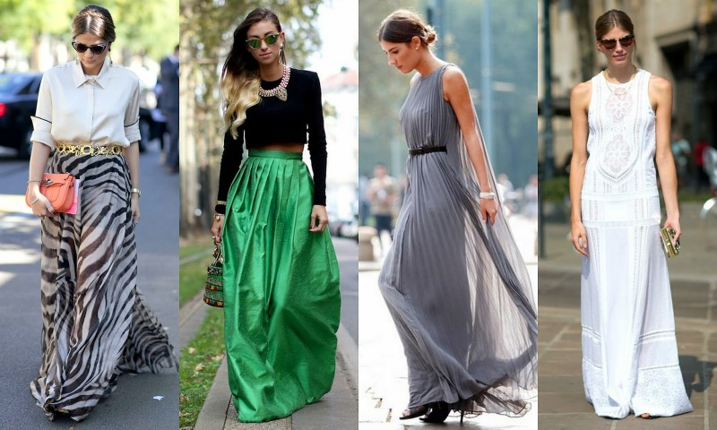 Comment porter une robe longue d'ete
